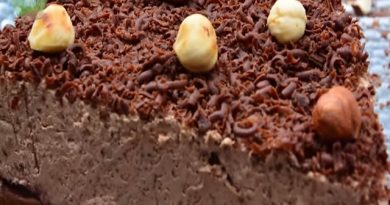 Brza čokoladna nugat torta – bogata lešnicima