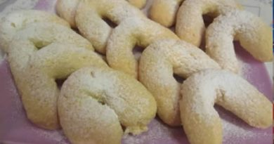 Kokos kiflice, vazdušasto hrskave – recept 3 minuta za početnike