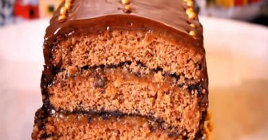 Medenjak posna torta – Gingerbread Cake Recipe