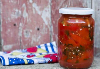 Zimnica: Barena paprika u paradajz sosu bez konzervansa