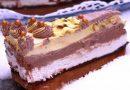 Nepečena, kremasta, brza torta sa plazma keksom, nutelom, slatkom pavlakom i mlečnom čokoladom