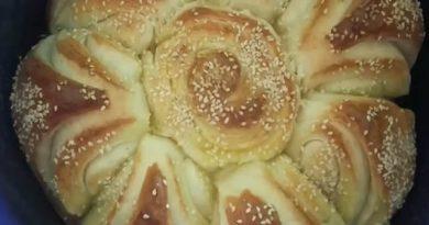 Pogača brza lisnata  dekorativna – Homemade bread