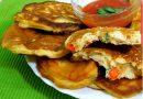 Pizza uštipci (mini pizza palačinke) – Ideja za večeru ili doručak