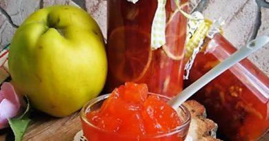 Dunje – bakino slatko s limunom i orasima, rajskog izgleda i okusa! – Quince granny`s sweet