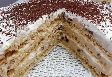 Posna nescafe torta: Lagana i kremasta – savršena torta
