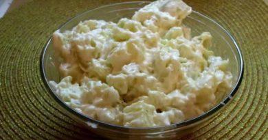 Posna salata sa krompirom: Salata je veoma jednostavna i brzo se pravi