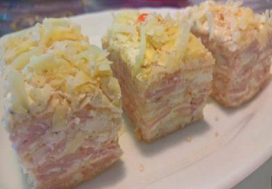 Slana torta sa oblandom