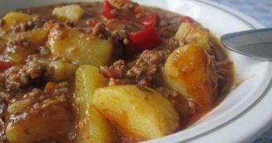 Krompir sa mljevenim mesom: Fenomenalan ručak za 30 minuta! (Recept)