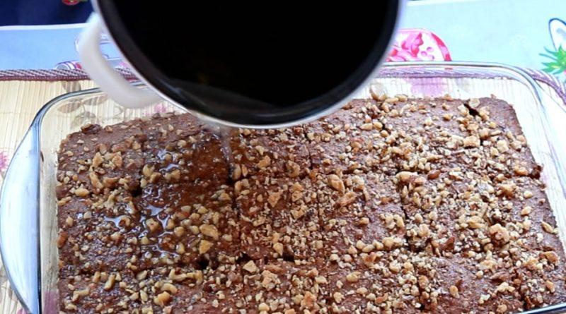 Sjajan kolač – najlepši preliven kolač bez brašna