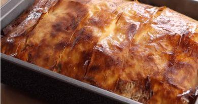 Gužvara – Brza pita lijenih žena – Sirnica – Pita sa sirom – Gužvara recept – Gibanica