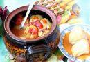 Sjajne punjene paprike tikvicama i prazilukom
