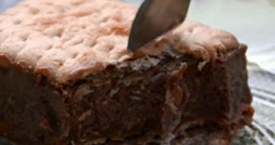 Brzi čokoladni sladoled kolač