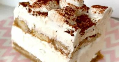 Brza tiramisu torta (bez jaja) – Tiramisu cake