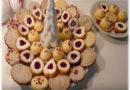 Božični kokos keksi- Christmas coconut cookies