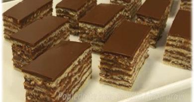 Madjarica (posno) – Hungarian cake (vegan)