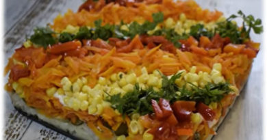 Posna salata sa krompirom, šargarepom i tunjevinom