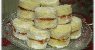 Starinske vanilice sa marmeladom od marelice
