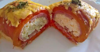 Rolnice sa pečenom paprikom i sirom – Brz ručak koji će vas oduševiti