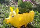 Saksija za cveće od plastične flaše – Uradi sam – recycle plastic bottles