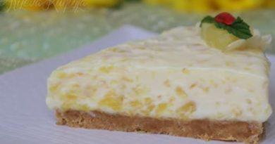 Kremasta ananas torta – Creamy pineapple cake