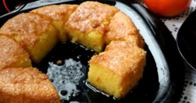 Sočni desert: Preliven limun griz kolač
