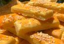 Puter štanglice sa sirom, bez kvasca i praška za pecivo. – Koktel Pecivo – Party Food
