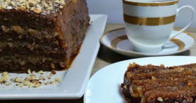Crna posna torta – izuzetno ukusna i sočna