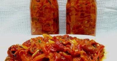 Cepkana paprika za zimu bez konzervansa koju ćete praviti svake godine