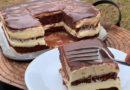 Najkremastija poslastica na svetu! Kolač čokolada-puding po starom receptu