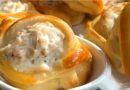 Domace punjeno pecivo – Punjeni camcici sa pilecim prisma i krem sirom