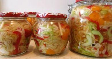 Miješana salata iz bakine zimnice – Najbolja salata koju možete jesti već sutra.