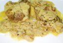 Vrat u kari sosu – Meso se topi u ustima,Odličan ručak-Meat in curry sauce