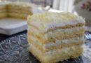 Bela kokos torta-Bez pečenja