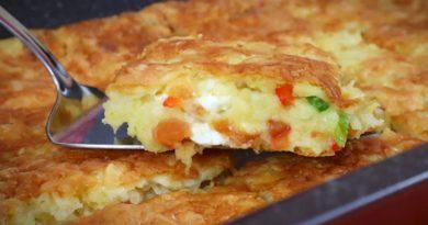 Pita gotova za tren oka – brza pita sa sirom i krompirom za veceru ili dorucak – hit recept