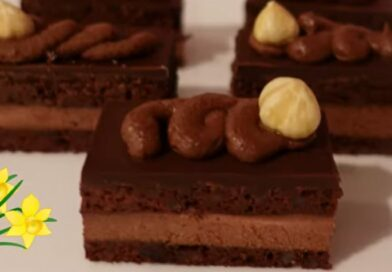 Predivne čokoladne šnite bez brašna (gluten free chocolate bars)