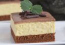 Griz kolač: Biskvit ovog kolača je posebno mekan i sočan, a u kombinaciji s kremom, jednostavno se topi u ustima