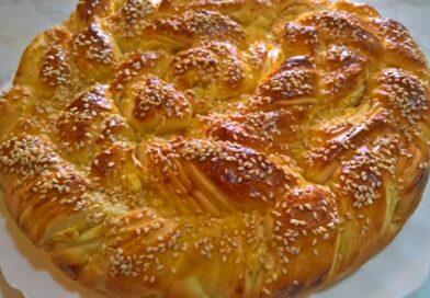 Lisnata pogača sa feta sirom – Vrlo jednostavna