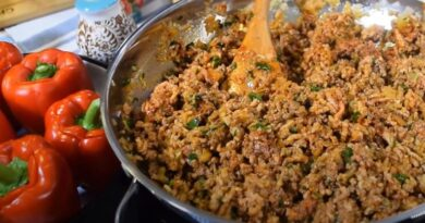 Punjene paprike sa mesom bez dodatka zaprske – Dobar stari proven recept