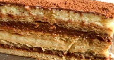 Brza Posna Kremasta torta bez pečenja