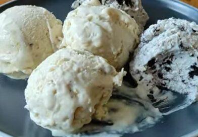 Sladoled sa 2 sastojka! Jednostavan i lagan desert, bez jaja, kremast i ukusan!