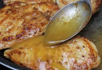 Ideja za ručak – pileća prsa u kremastom belom sosu