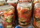 Šarena salata za zimu recept. Jedite ljetnu salatu i zimi