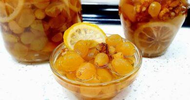 Slatko od belog grožđa – Slatko mog detinjstva – Najlepši ukus koji se pamti