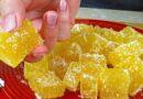 Slatkiš za sva vremena! Domaći žele bomboni od pomorandzinog soka