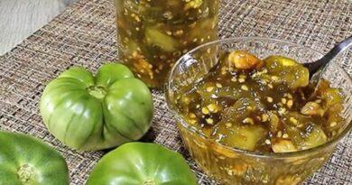 Brzo i lako – Aromatično slatko od zelenog paradajza